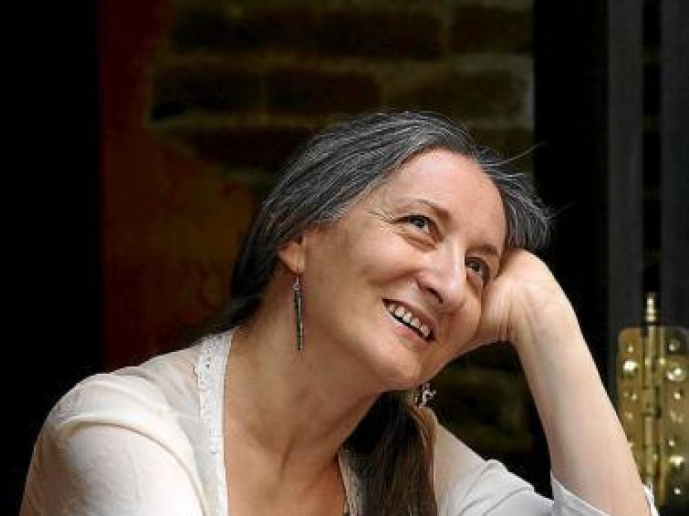 La bailarina zaragozana Ana Laguna, el año pasado en Madrid