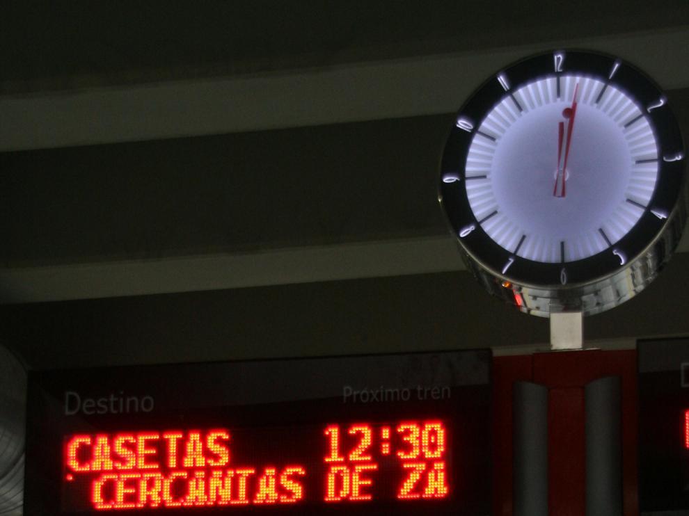 El colapso del túnel de Goya impide a Renfe alargar los regionales de Delicias a El Portillo