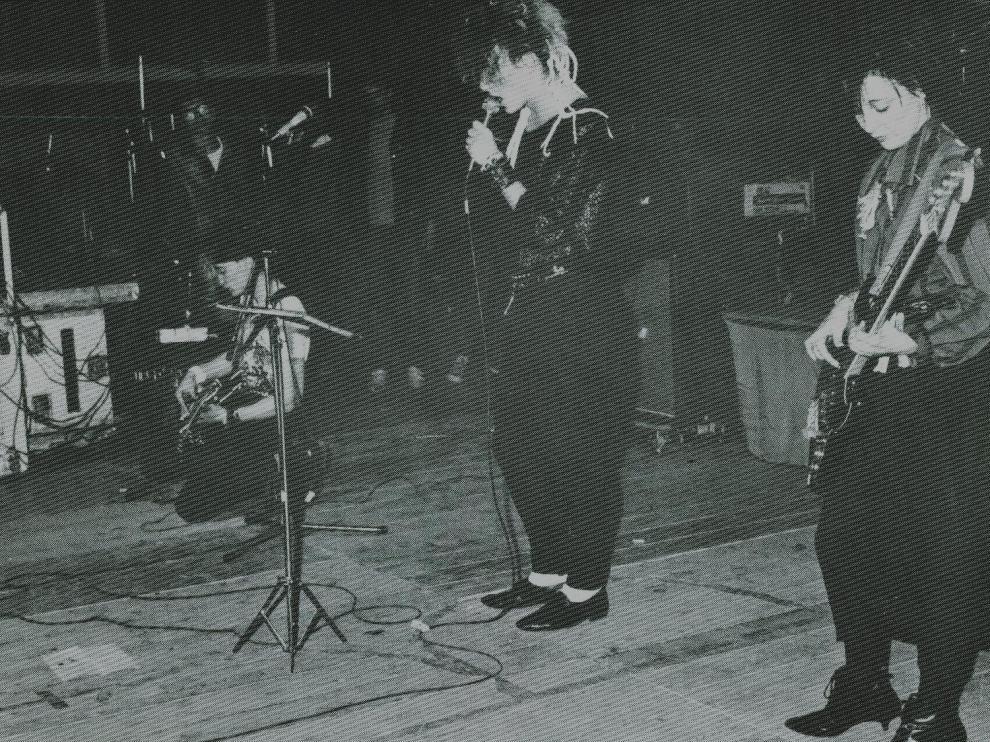 John Landis Fans, con Sassafras (izquierda) y Santi Rex (Centro).