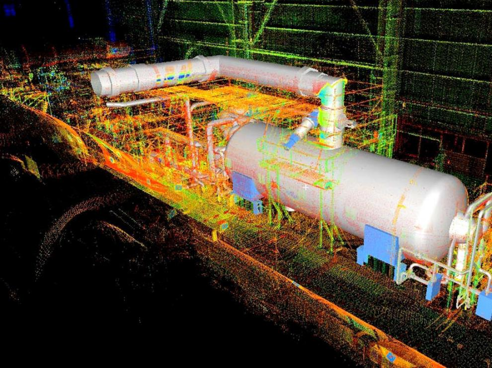 Investigadores de Zaragoza escanean en 3D las centrales nucleares para mejorar la seguridad