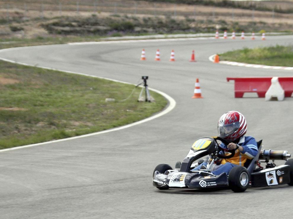 El circuito de Motorland fue el escenario de dos ediciones de la Fórmula Karting Aragón.