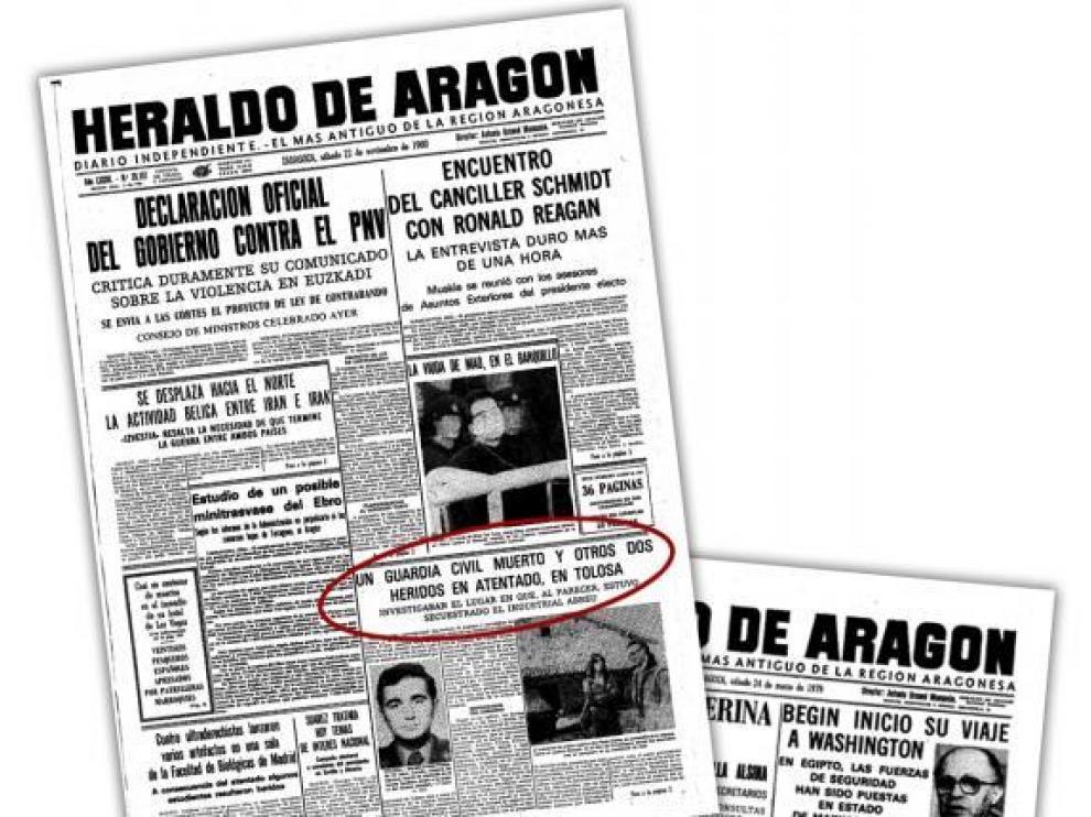Venezuela y ETA: cicatrices en Zaragoza