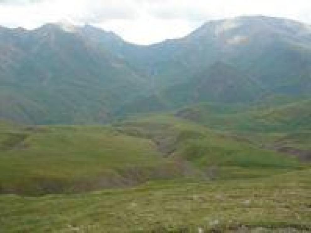 Vista del valle donde se realizará la ampliación