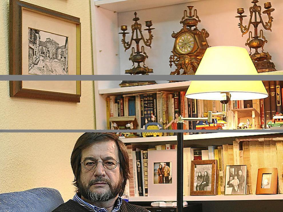 Cristóbal Gómez Benito, en su domicilio