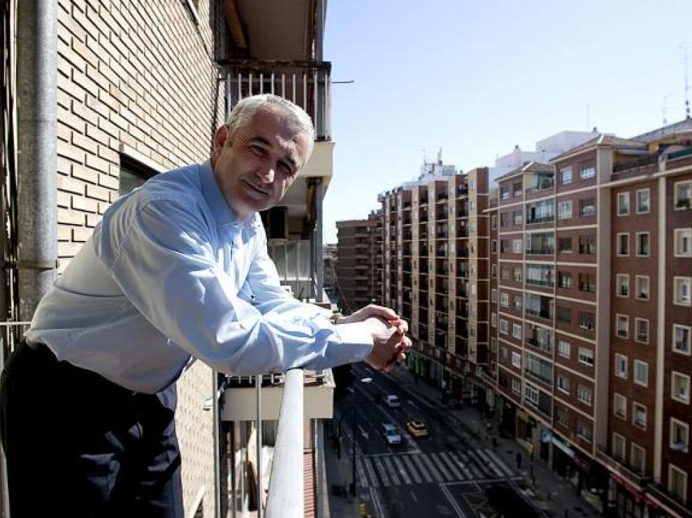 Félix Moreno es el presidente de la Federación de Asociaciones de Barrios de Zaragoza (FABZ).