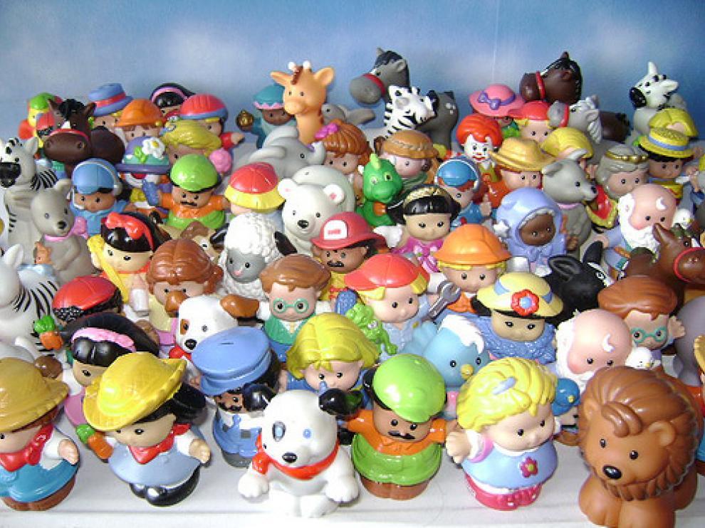 Muñecos de Mattel