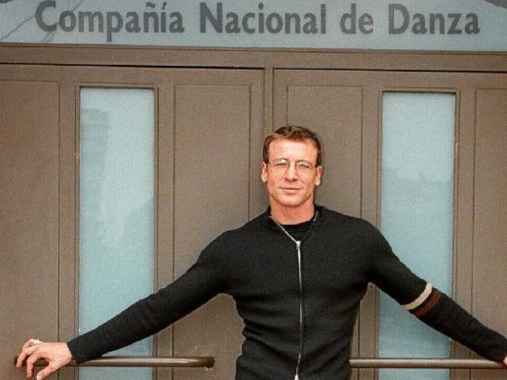 Nacho Duato, en la sede de la Compañía Nacional de Danza.