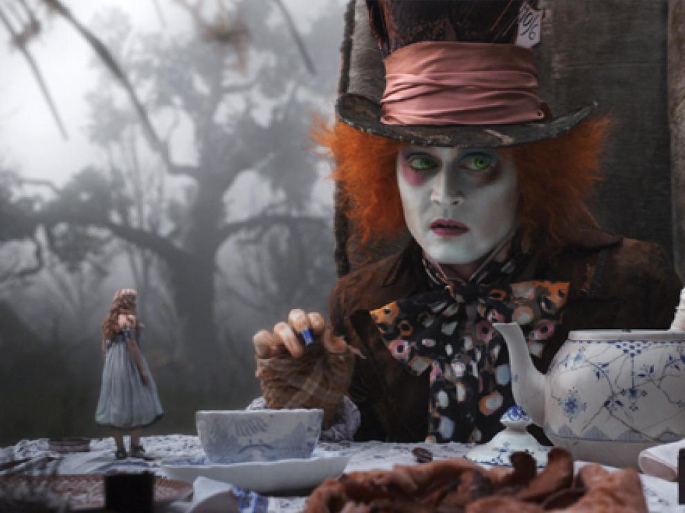Johnny Depp, en 'Alicia en el país de las maravillas'