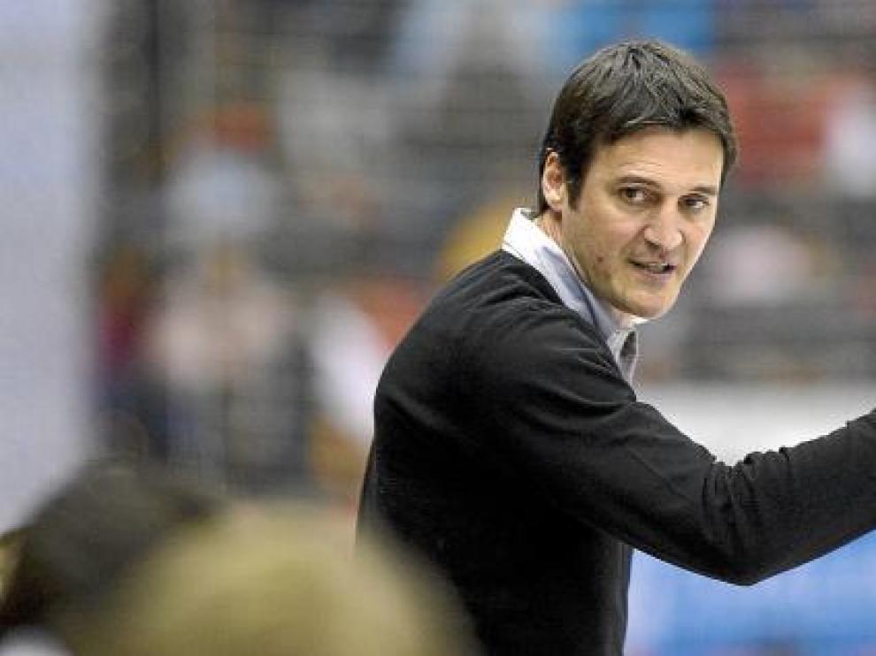 Mariano Ortega, entrenador del Balonmano Aragón