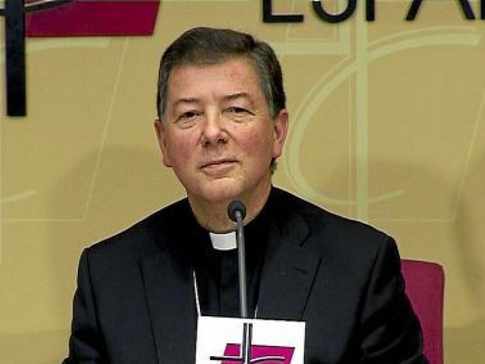 El secretario de la Conferencia Episcopal, Juan Antonio Martínez.