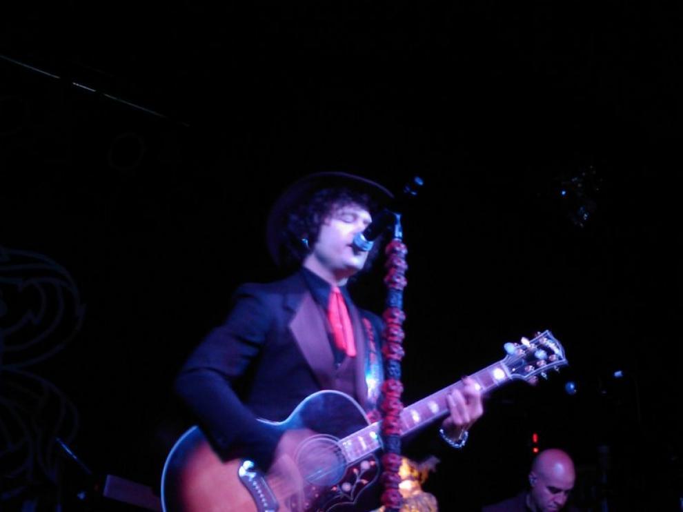 Bunbury, en su actuación del viernes en Detroit