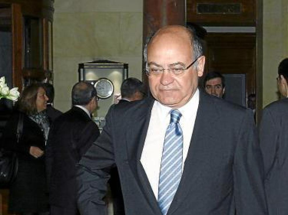 Imagen de archivo de Díaz Ferrán, presidente de la CEOE.