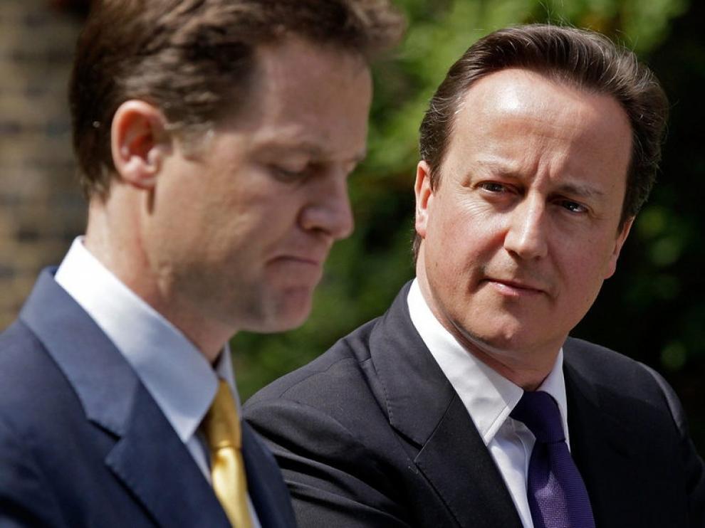 Clegg, junto Cameron