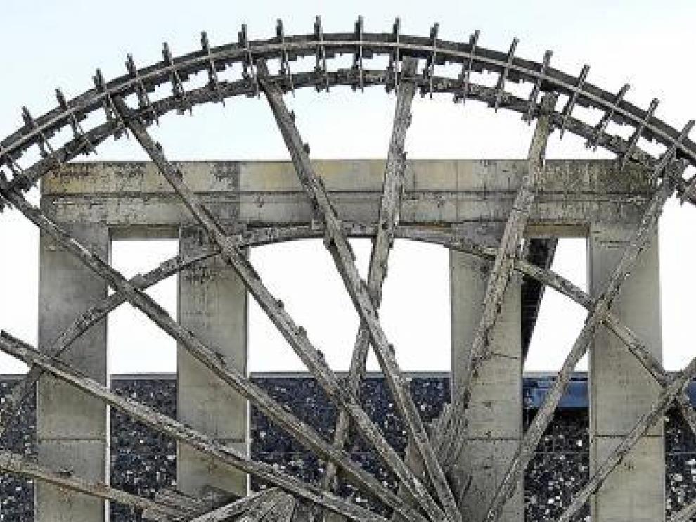 La noria siria de la Expo está cada vez más deteriorada