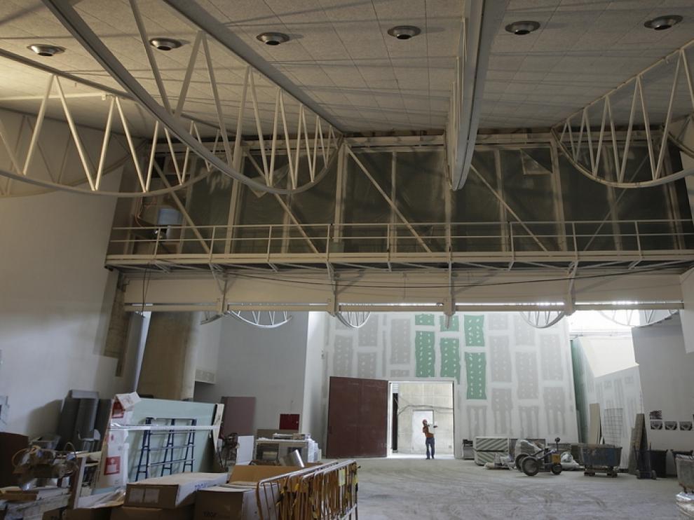 La nueva sala de exposiciones temporales tendrá casi 500 metros cuadrados