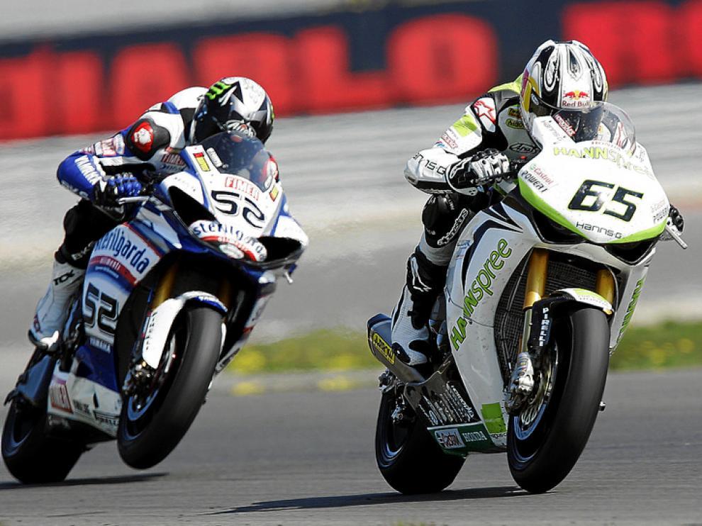 Imagen de la prueba de Superbikes disputada hace unas semanas en Assen (Holanda).