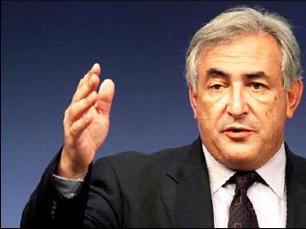 Dominique Strauss-Kahn, presidente FMI