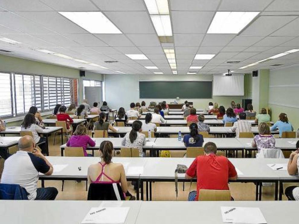 Debido al número de opositores, la prueba se hizo en 125 aulas diferentes.