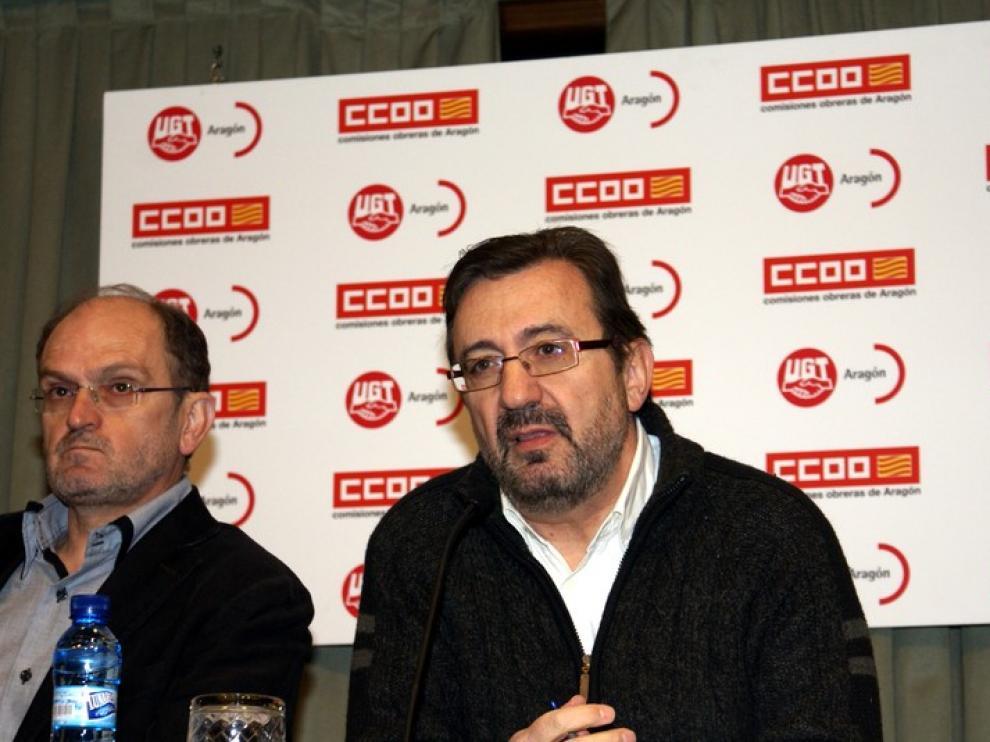 """Julián Buey. Secretario General CC.OO. Aragón: """"Este problema debe afrontarse ya"""""""