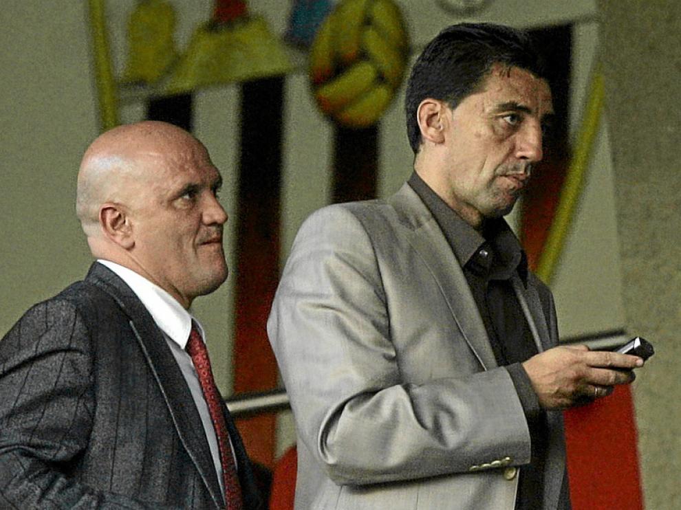 Pedro Herrera y Antonio Prieto