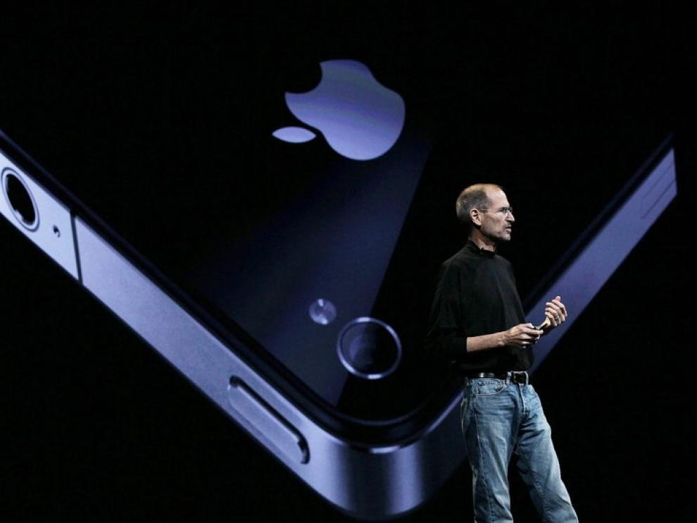 Steve Jobs en una imagen de archivo