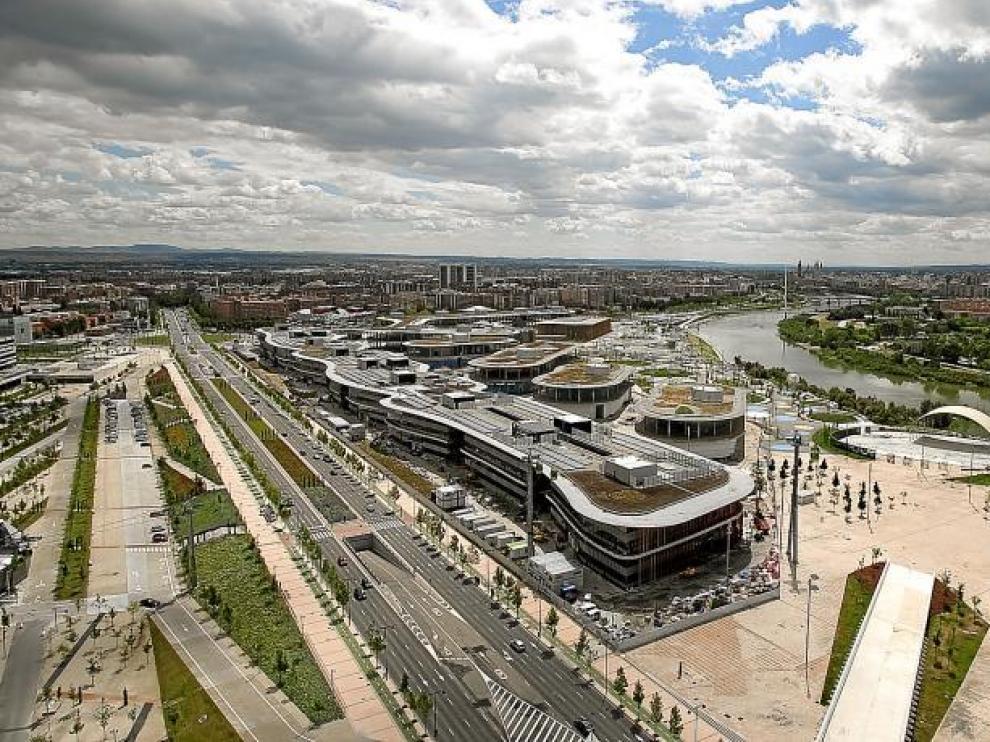 El recinto de la Expo se encuentra en pleno proceso de transformación a punto de cumplirse dos años de la muestra.