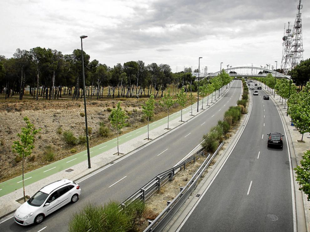 A su paso por Torrero, la circulación media es de 35.000 vehículos.