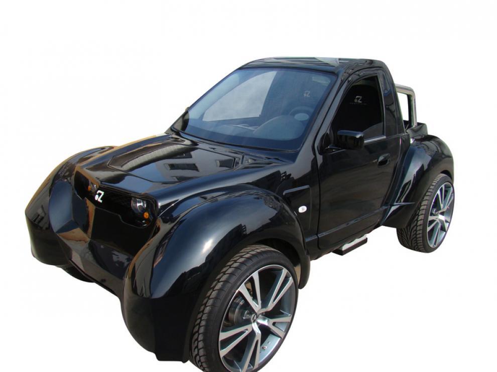 El Gorila, un vehículo íntegramente diseñado por Zytel