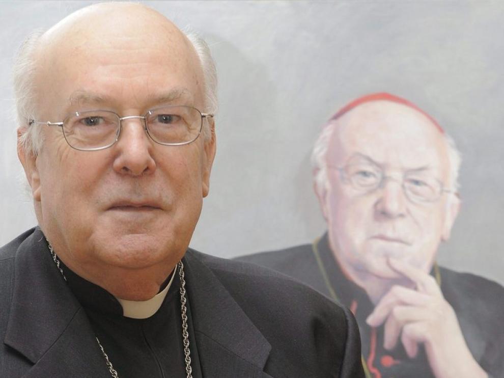 El cardenal Godfried Danneels. La policía investiga casos de pederastia en su casa