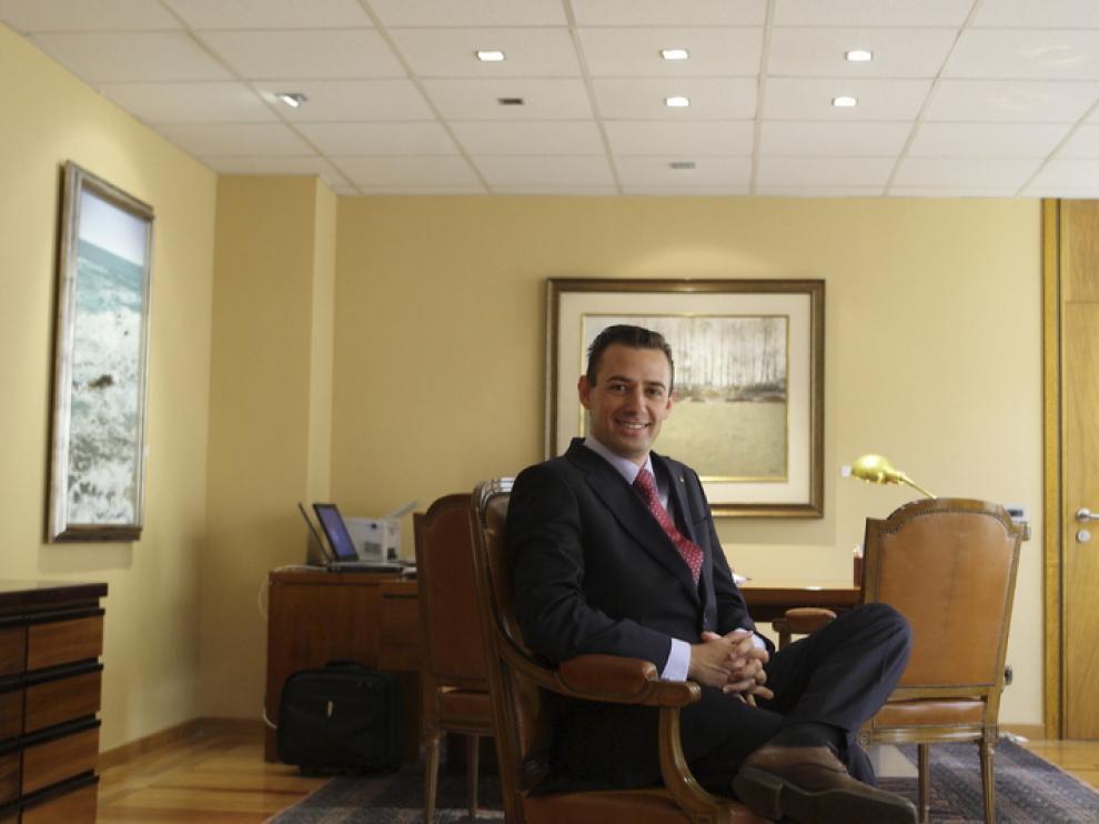 Luis Miguel Carrasco, director general de la CAI
