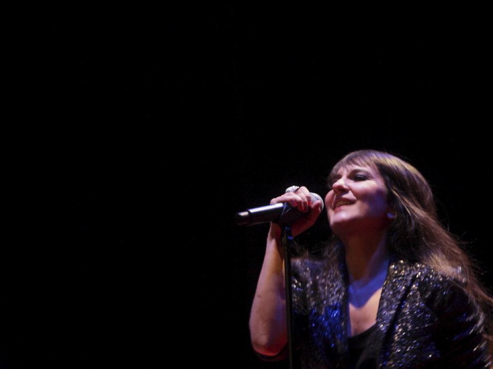 Amaral, en un concierto reciente