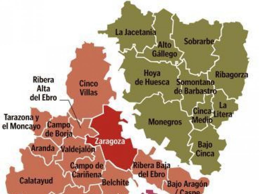 El plan de ajuste pone en jaque el mapa administrativo