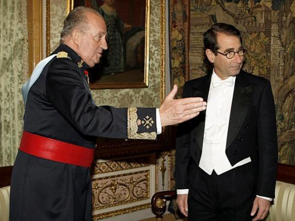 El Rey recibió en enero las credenciales del nuevo embajador Solomont en el Palacio Real.