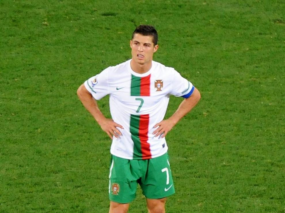 Ronaldo, en un partido del Mundial.