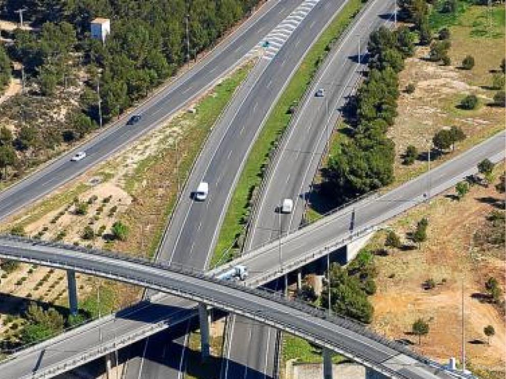 Autopista de la compañía Abertis.