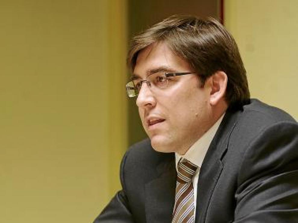 El presidente del CAI, Reynaldo Benito