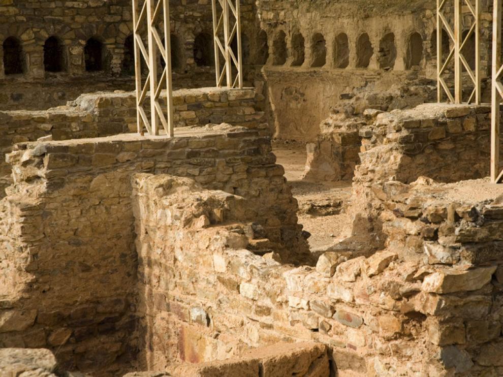 Yacimiento arqueológico de Bílbilis, en Calatayud