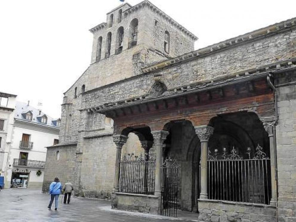 La catedral de Jaca, uno de los monumentos más destacados del conjunto histórico de la ciudad.