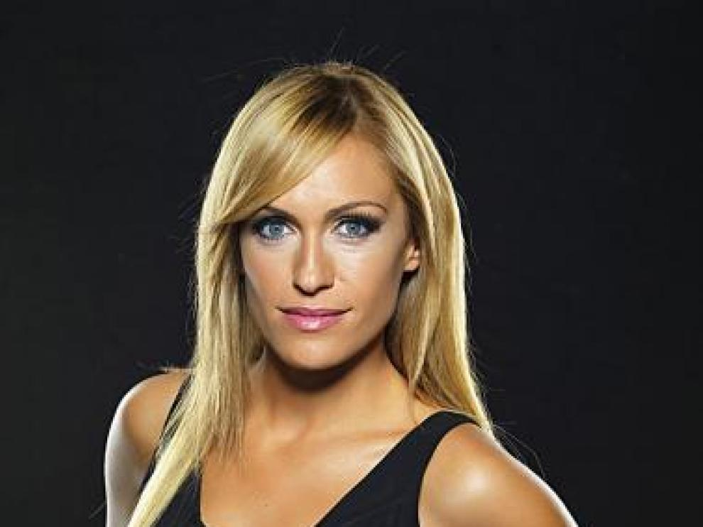 La presentadora Luján Argüelles presenta 'Dame una pista'.