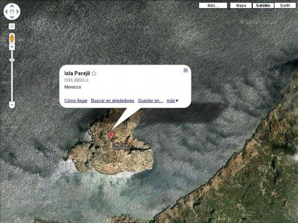 Captura de Google Maps.