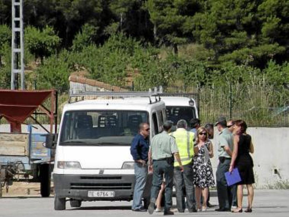 La comisión hizo hincapié en situar la furgoneta en el sitio exacto.