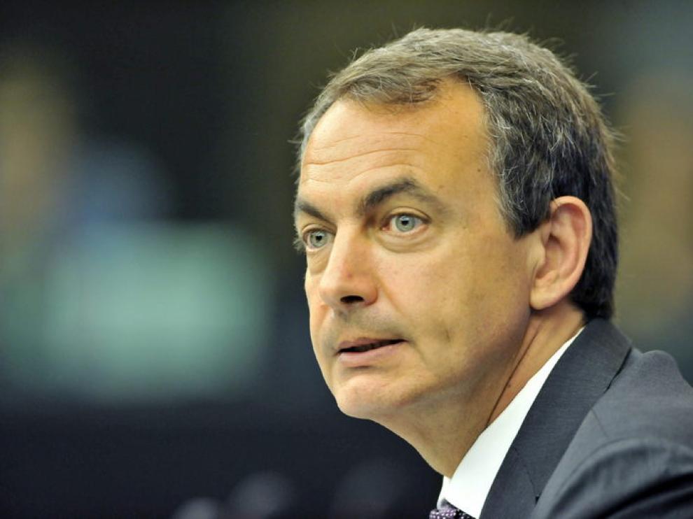 El presidente Rodríguez Zapatero.