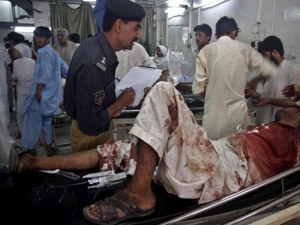 Los heridos en el ataque se recuperan en los hospitales