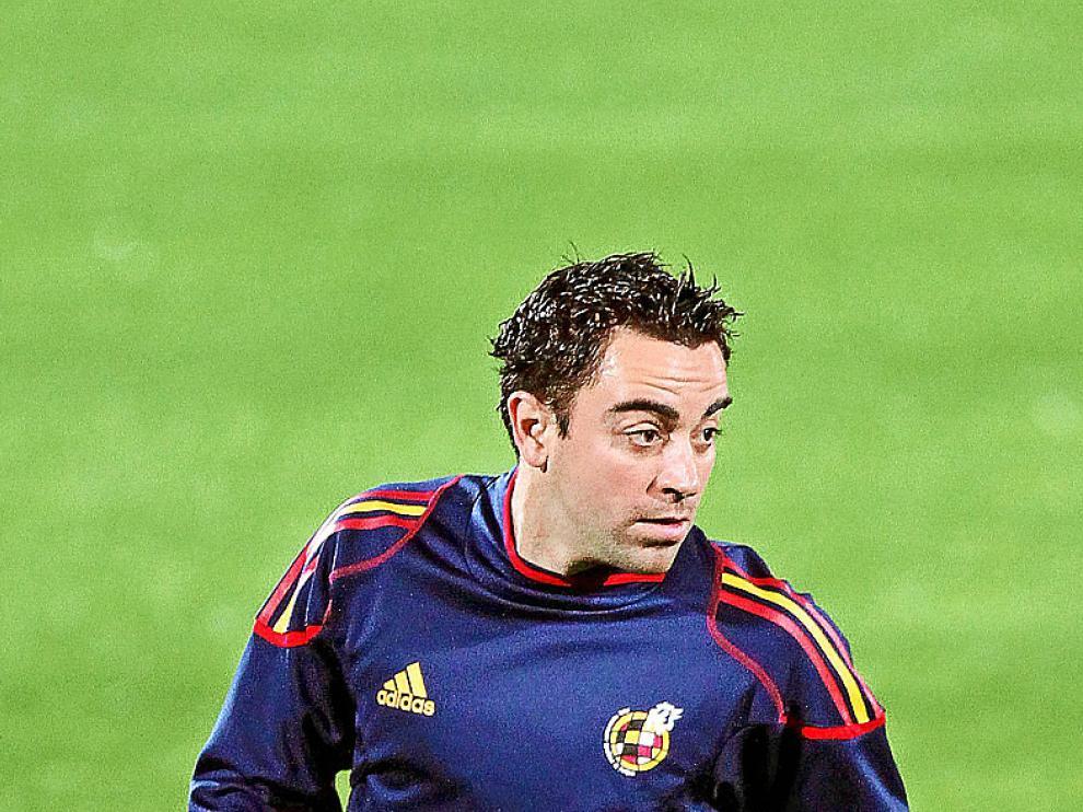 Xavi Hernández en una imagen de archivo