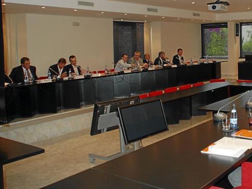 Imagen de una Asamblea pasada de la Asociación de Clubes de Baloncesto.