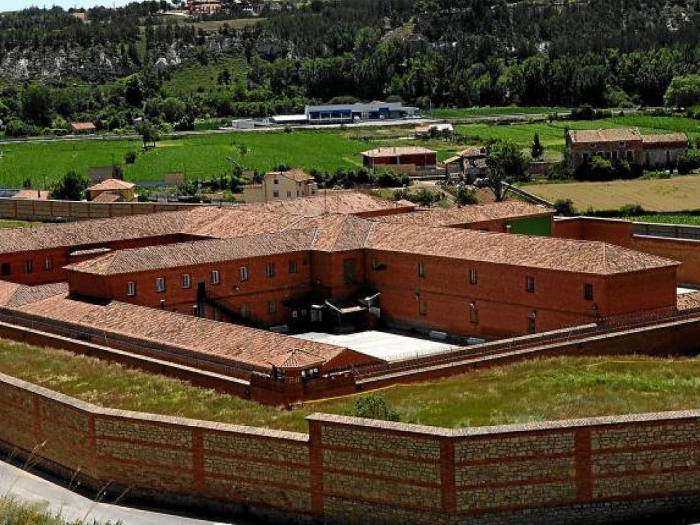 Vista general del centro penitenciario de Teruel, en el que hay ahora 230 presos.