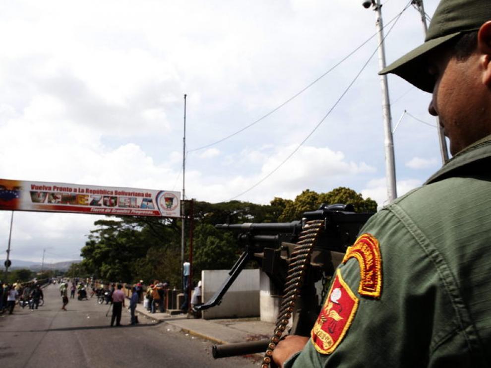 La frontera entre Venezuela y Colombia siempre está vigilada