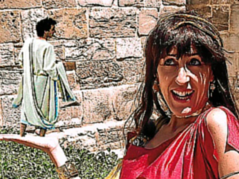Una de romanos. Visitas al Foro y al Teatro de Caesaraugusta con animación