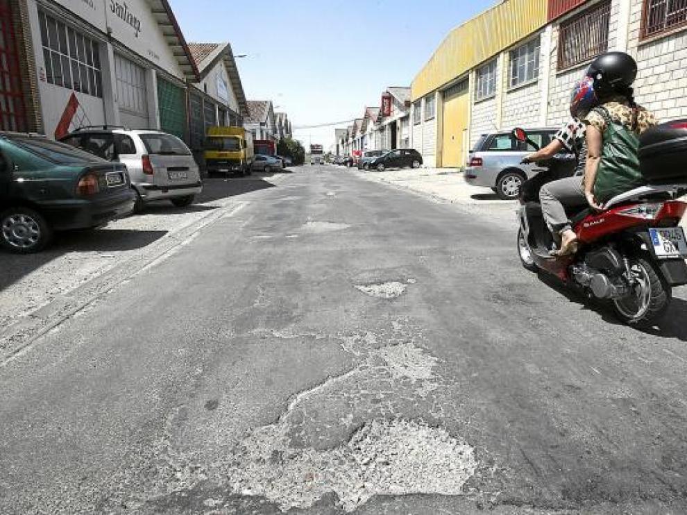 Los hurtos y robos con fuerza caen al mínimo  en los Polígonos Industriales de Huesca