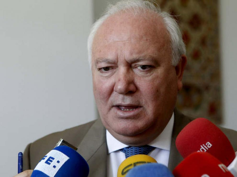El ministro español de Asuntos Exteriores, Miguel Ángel Moratinos